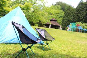 キャンプ場テント泊